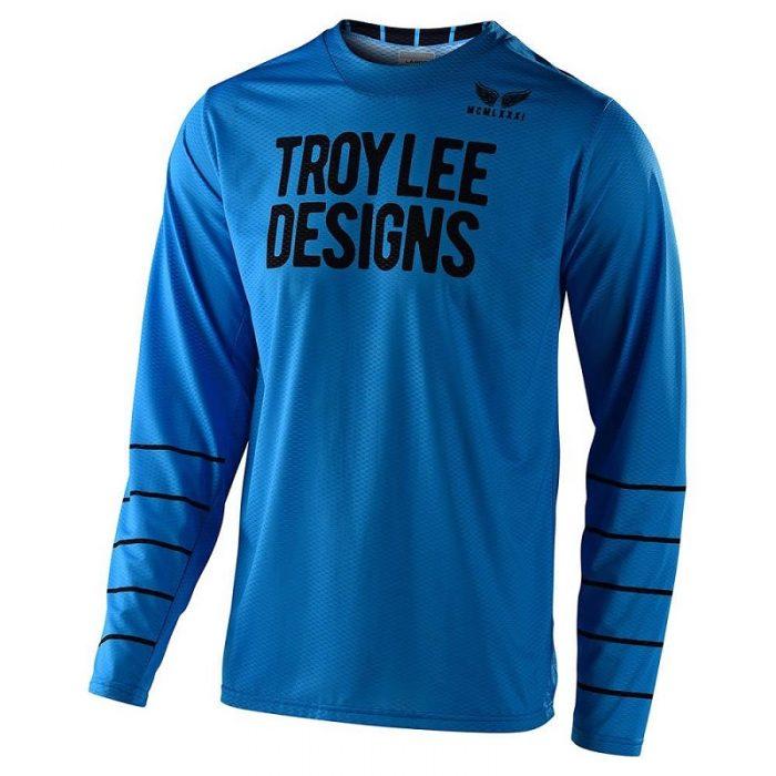 Блуза Troy Lee Designs GP Air Pinestripe Ocean/Black