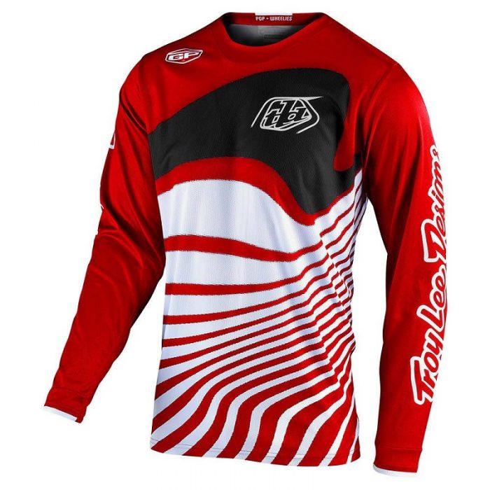 Блуза Troy Lee Designs GP Drift Red/Black