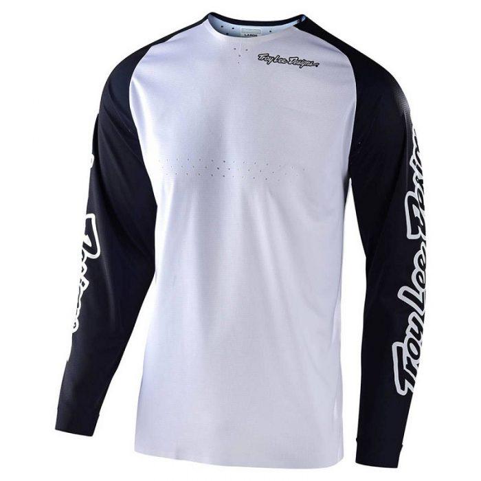 Блуза Troy Lee Designs SE Pro Solo White