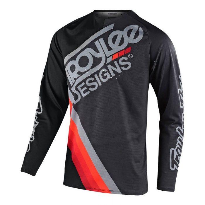 Блуза Troy Lee Designs SE Pro Tilt Black/Gray