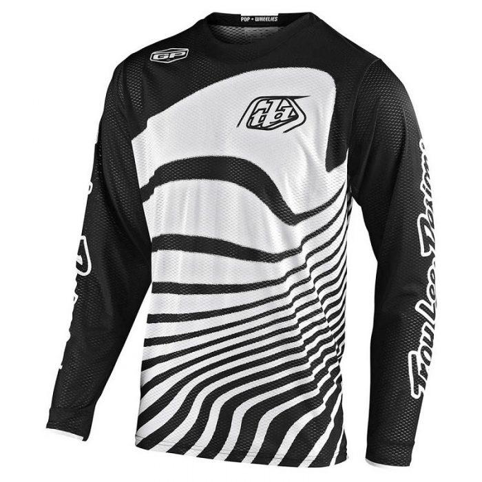 Блуза Troy Lee Designs GP Air Drift Black/White
