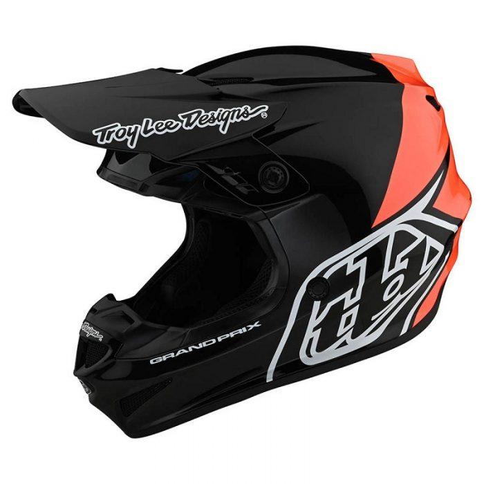 Каска Troy Lee Designs GP Block Black/Orange