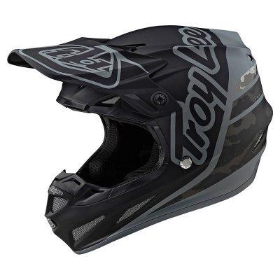 Troy Lee Designs SE4 Composite Silhouette Black Camo