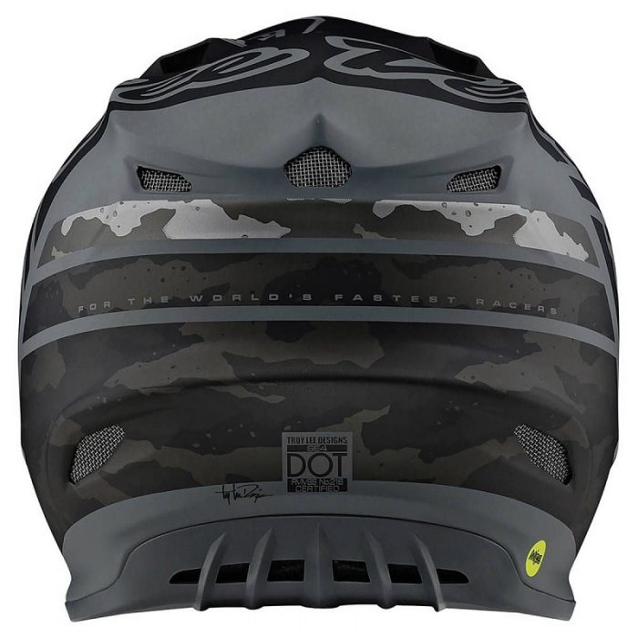 Troy Lee Designs SE4 Composite Silhouette Black Camo