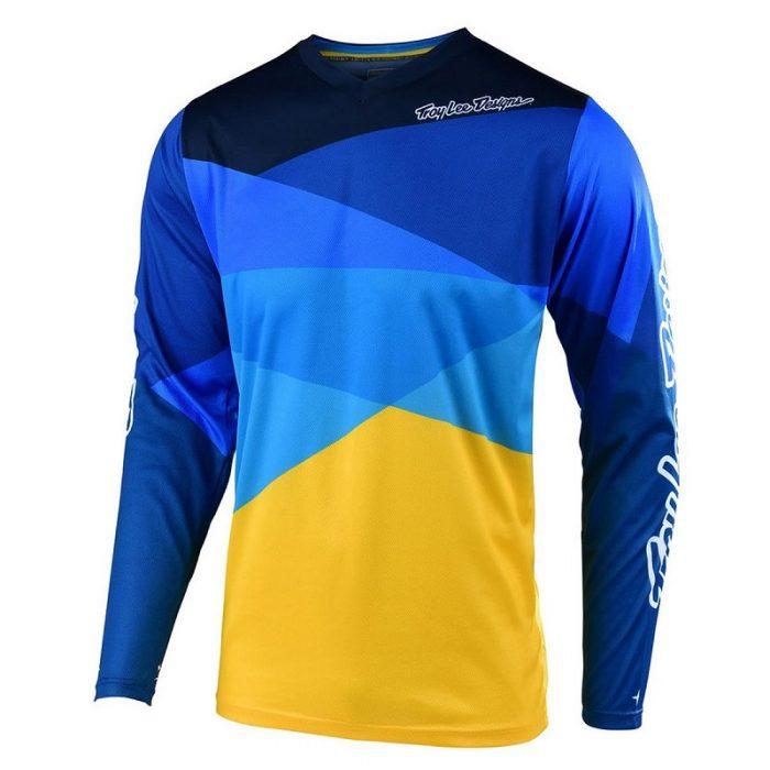 Блуза Troy Lee Designs GP Air Jet Yellow/Blue