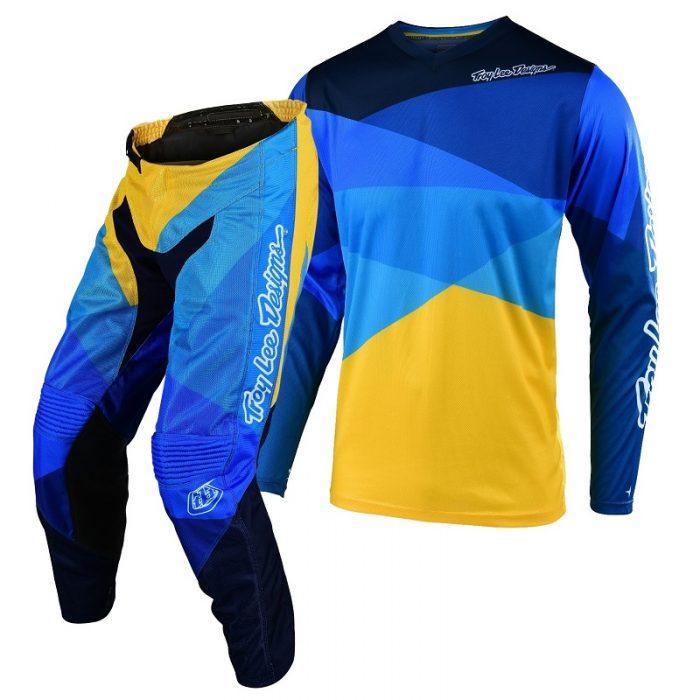 Екип Troy Lee Designs GP Air Jet Yellow/Blue
