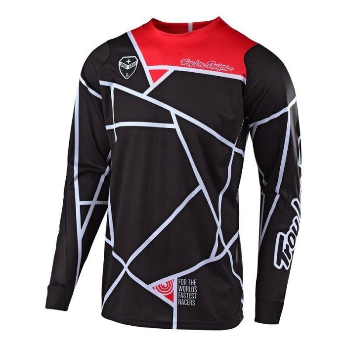 Блуза Troy Lee Designs SE Metric Black/White