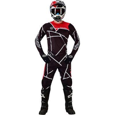 Екип Troy Lee Designs SE Metric Black/White