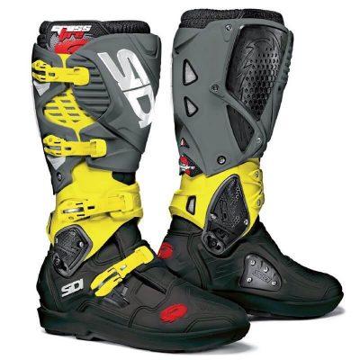 Ботуши SIDI Crossfire 3 SRS Yellow/Grey Limited