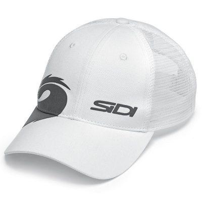Шапка с козирка SIDI Net Cup Бяла
