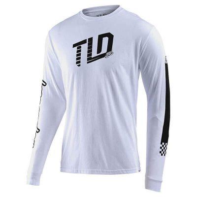 Блуза Troy Lee Designs Trackside White