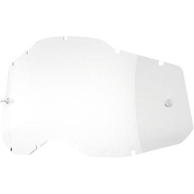 Плака за очила 100% Racecraft2/Accuri2/Strata2 – Clear