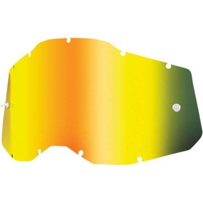 Плака за очила 100% Racecraft2/Accuri2/Strata2 – Mirror Gold