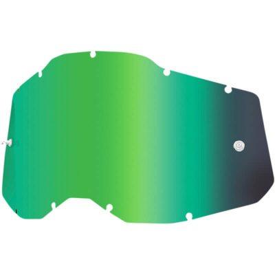 Плака за очила 100% Racecraft2/Accuri2/Strata2 – Mirror Green