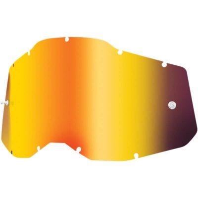 Плака за очила 100% Racecraft2/Accuri2/Strata2 – Mirror Red