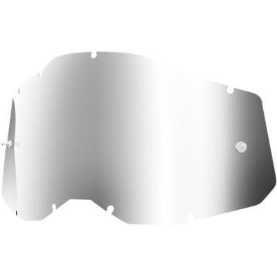 Плака за очила 100% Racecraft2/Accuri2/Strata2 – Mirror Silver