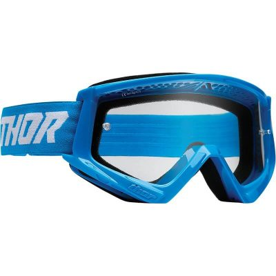 Очила THOR Combat Blue/White