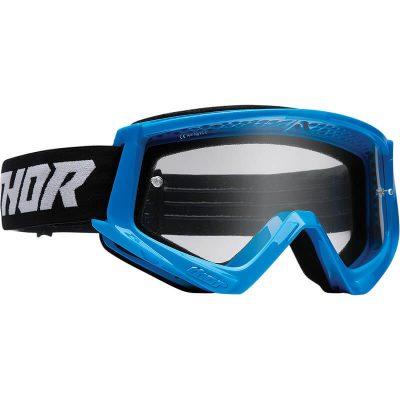 Очила THOR Combat Blue/Black
