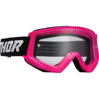 Очила THOR Combat Flo Pink/Black