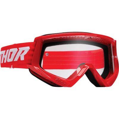 Очила THOR Combat Red/White