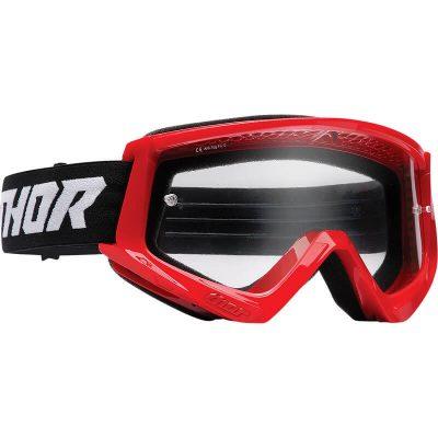 Очила THOR Combat Red/Black