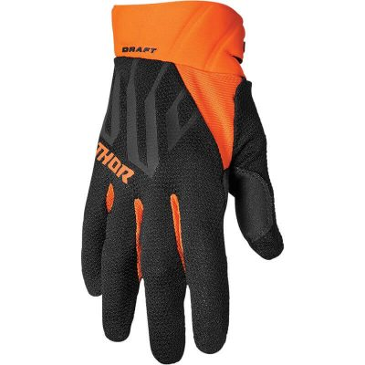 Ръкавици THOR Draft Black/Orange
