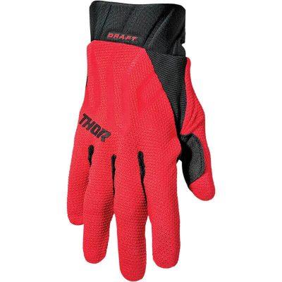Ръкавици THOR Draft Red/Black