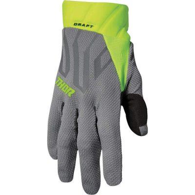 Ръкавици THOR Draft Gray/Acid