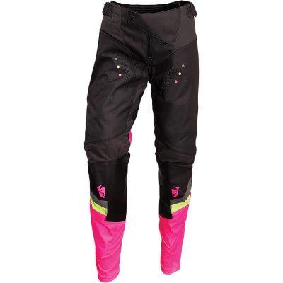 Панталон THOR Pulse Rev Charcoal/Flo Pink