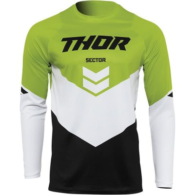 Блуза THOR Sector Chev Black/Green