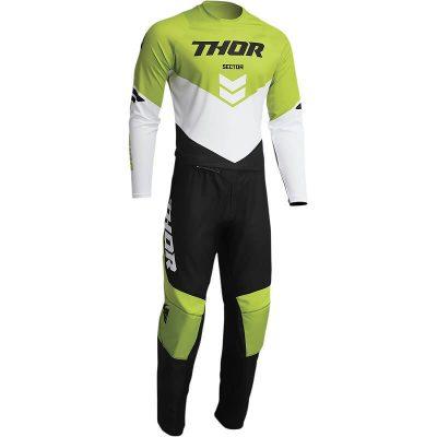Екип THOR Sector Chev Black/Green
