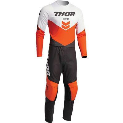 Екип THOR Sector Chev Charcoal/Orange