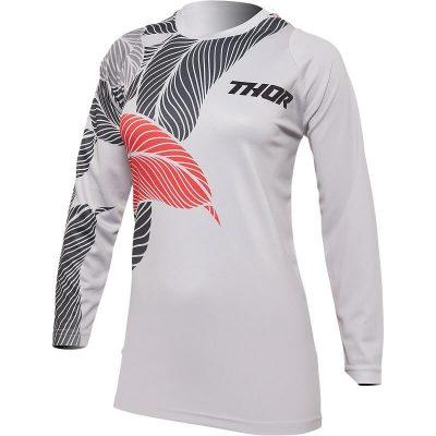 Дамска блуза THOR Sector Urth Gray/Coral