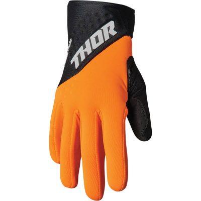 Ръкавици THOR Spectrum Orange/Black