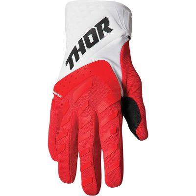 Ръкавици THOR Spectrum Red/White