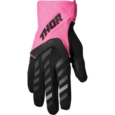 Дамски ръкавици THOR Spectrum Pink/Black