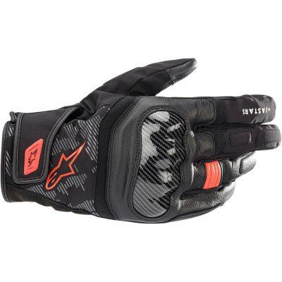 Ръкавици ALPINESTARS SMX Z Drystar Black/Red Fluo