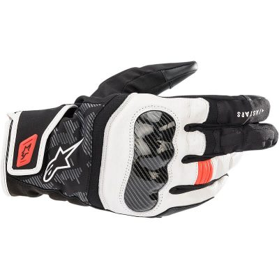 Ръкавици ALPINESTARS SMX Z Drystar Black/White/Red Fluo