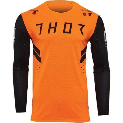 Блуза THOR Prime Hero Black/Flo Orange