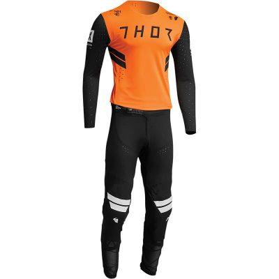 Екип THOR Prime Hero Black/Flo Orange